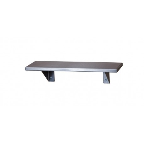 "Stainless Steel Shelf 4"" x 16"""