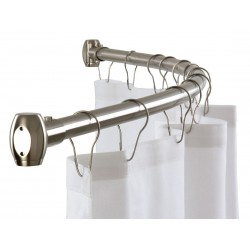 """Curved Shower Curtain Rod 60"""""""