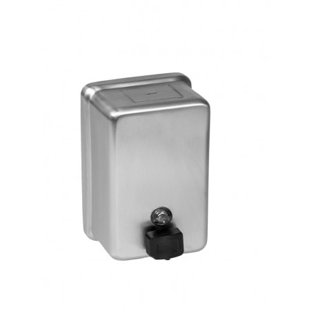 Soap Dispenser, Vertical, Surface Mounted