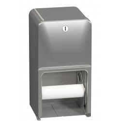 Toilet Tissue Dispenser, Surface-Mounted, Dual Roll
